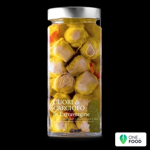 Artichokes Hearts In Extrvirgin Olive Oil